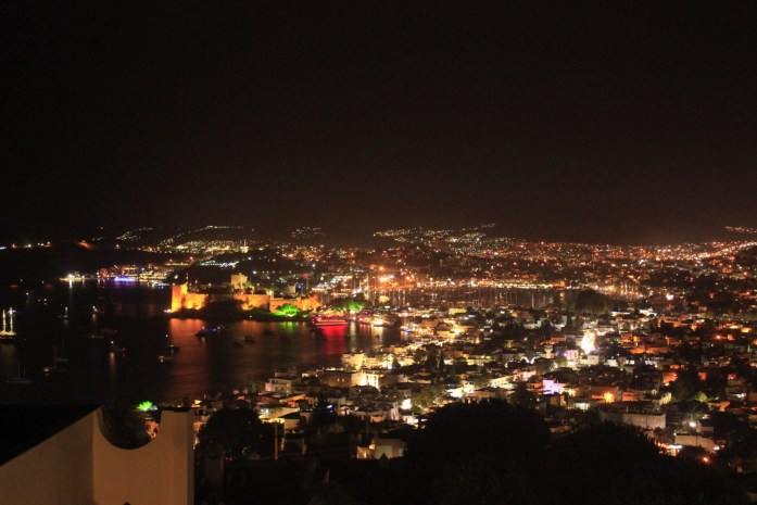 Beautiful view from my couchsurfing host's house in Bodrum, Turkey.
