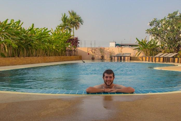 Swimming Pool in Bangkok Thailand
