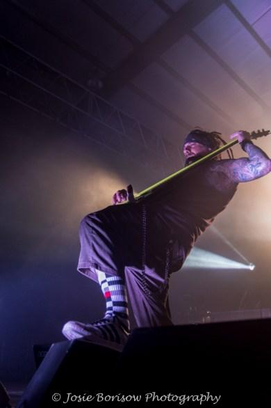 Reggie Fieldy Arvizu, Korn, Photo by Josie Borisow