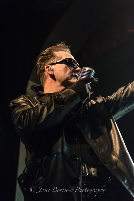 Dave Vanian, The Damned, Sycuan Live & Up Close, El Cajon (3 Sep 2015)