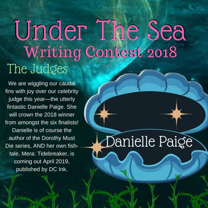 Under The Sea Writing Contest2018 Danielle