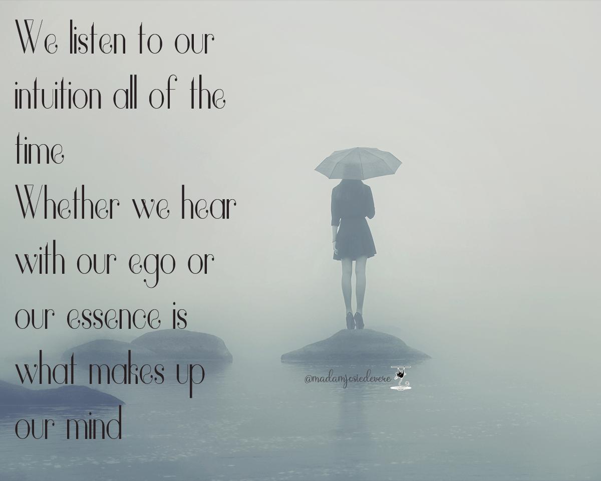 ego, spirit, intuition, listen, meditation