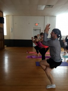 Yoga Brent adds the Village of Woodville to his global tour teaching and studying the spirituality of yoga.
