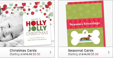 Christmas Photo Card Deal