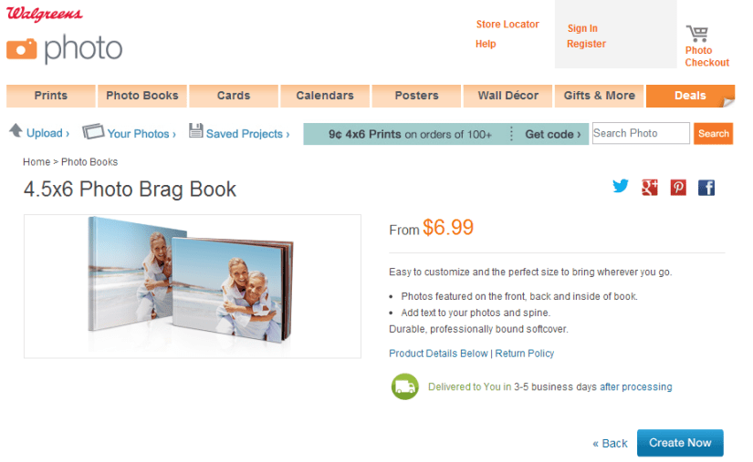 Free Photo Brag Book Shipped to Your Door
