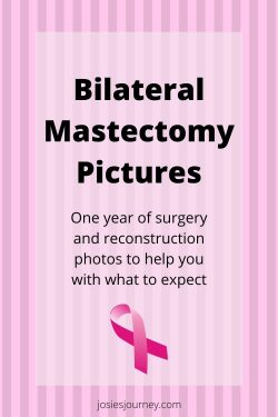Are you facing a bilateral mastectomy and feeling scared and unsure? The best thing to do is to learn as much as you can. Here are my bilateral mastectomy pictures so you have an idea what to expect. #bilateralmastectomy #cancer #breastcancer