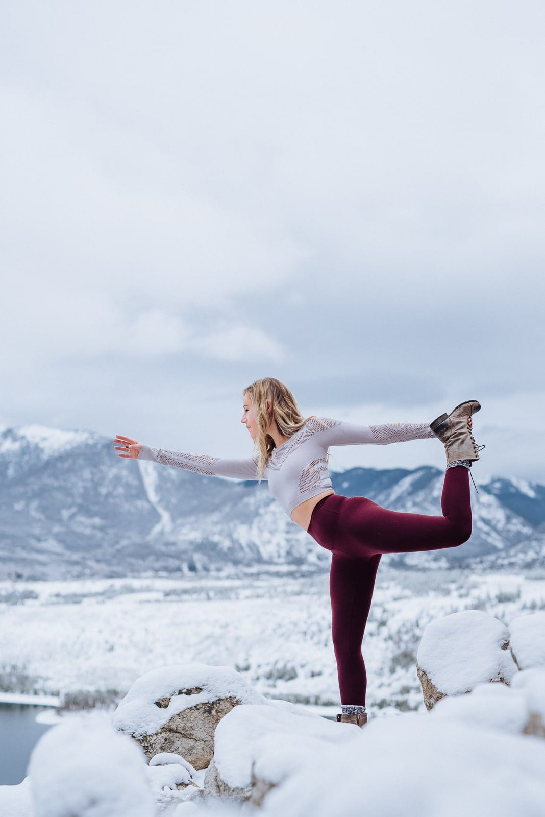 Winter Personal Branding Fitness Photoshoot | Josie V Photography
