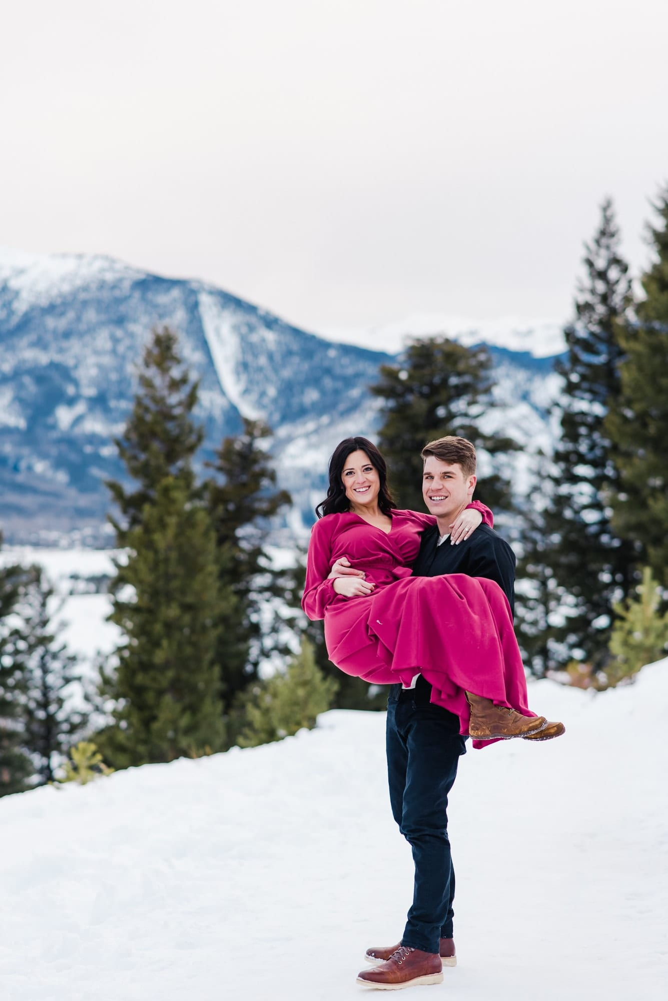 Colorado Mountain Engagement Photos by Josie V