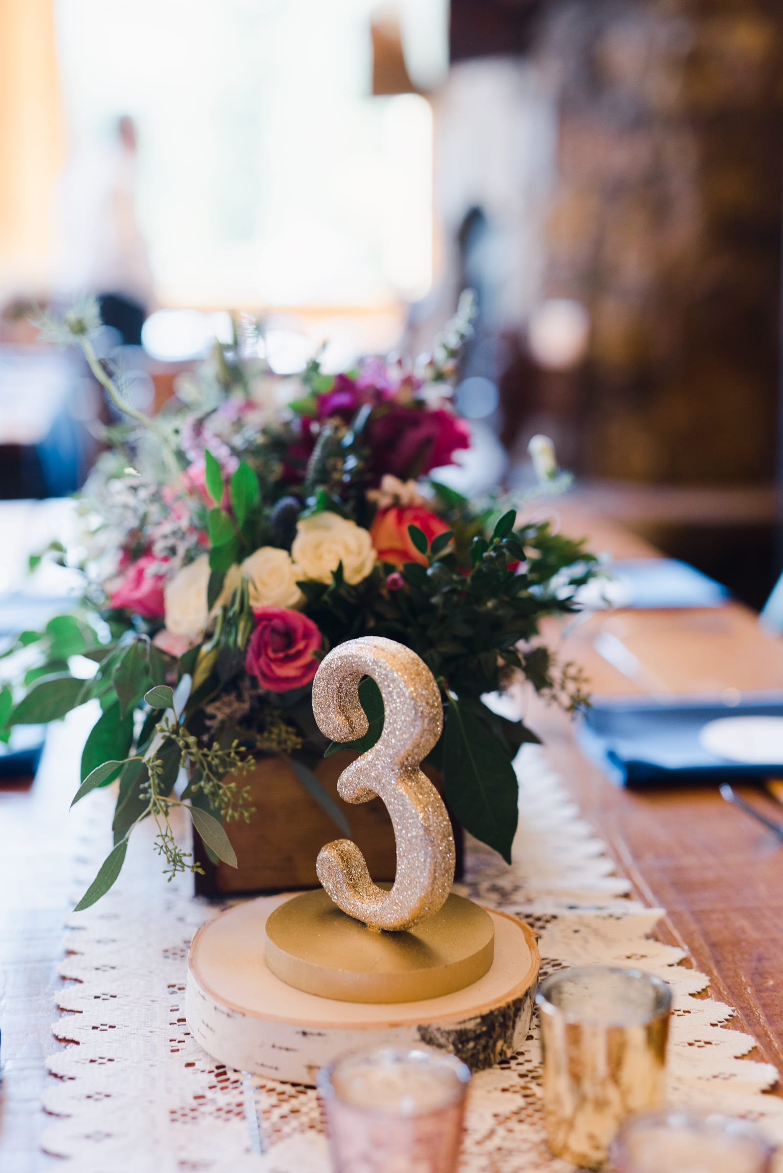 Bright Tablescapes for Fall Wedding | Josie V Photography