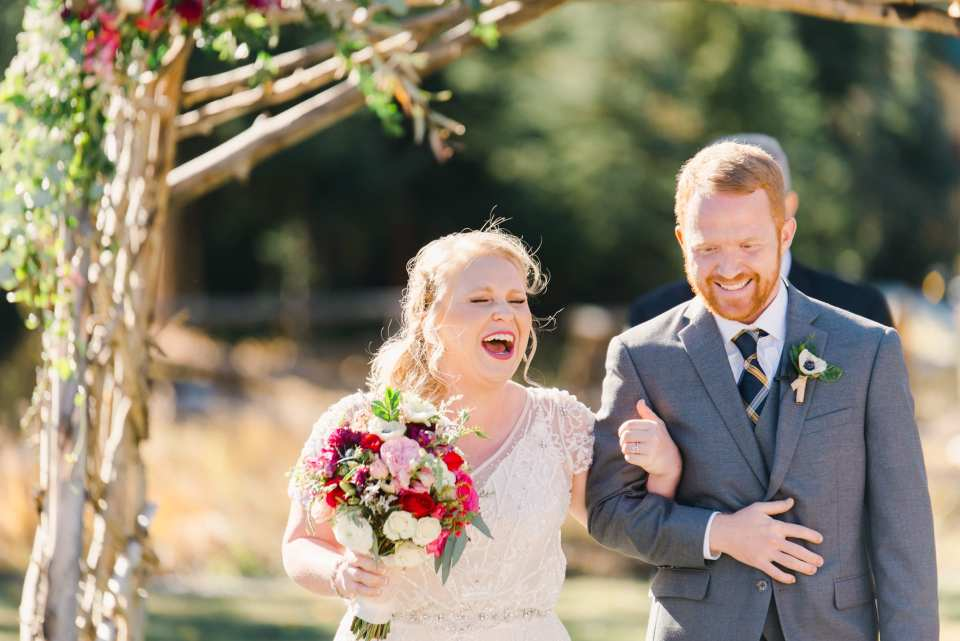 Joyful Fall Mountain Wedding in Breckenridge | Josie V Photography