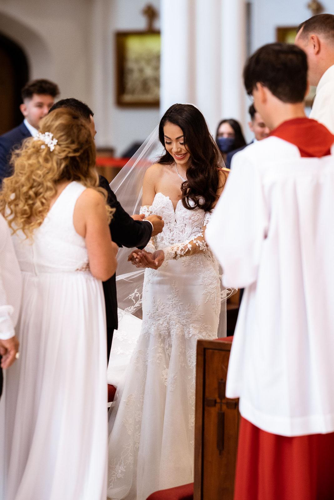Elegant Catholic Wedding in Colorado | Josie V Photography
