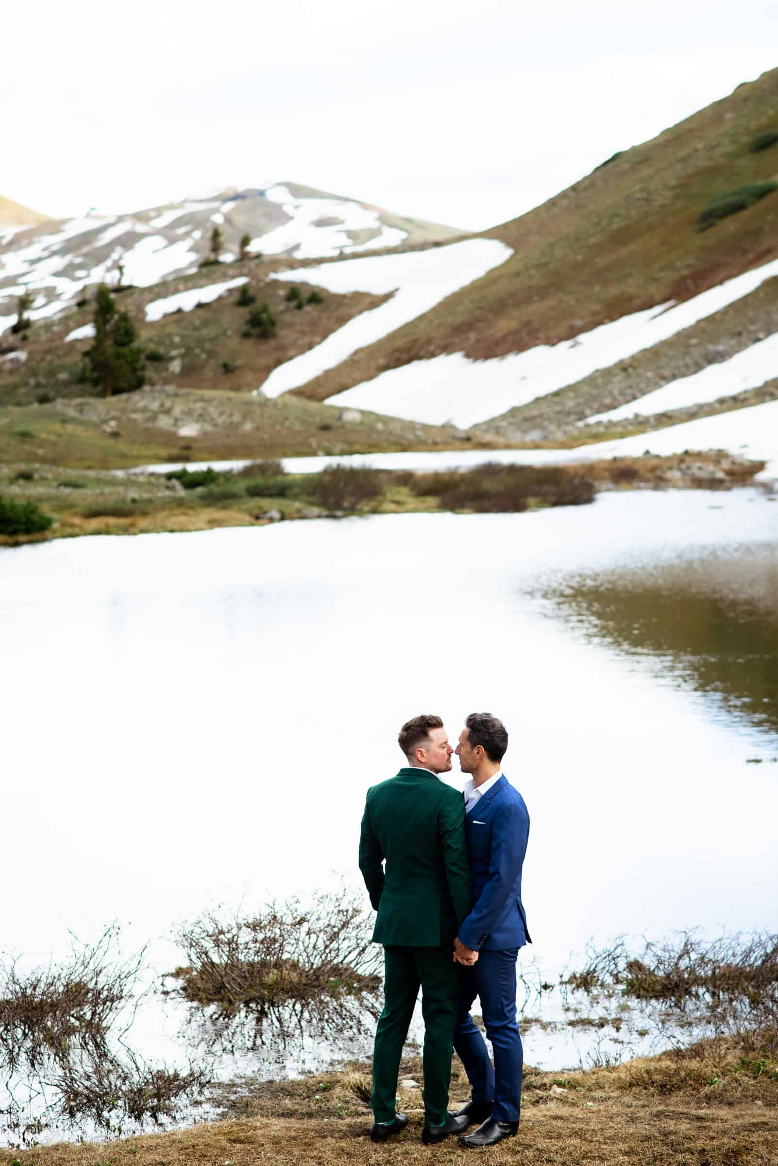 Gay Mountain Wedding | Josie V Photography