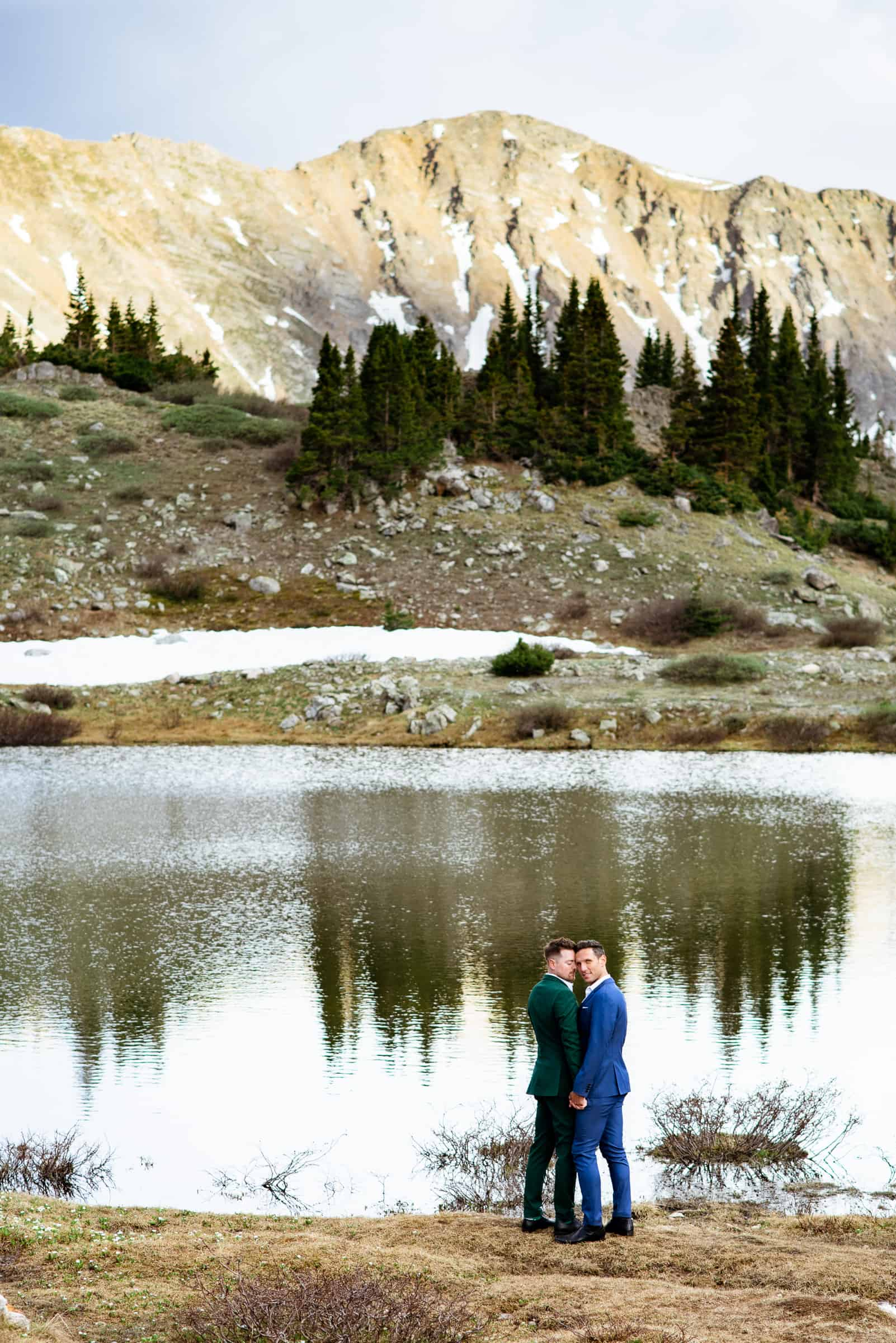 Gay Rocky Mountain Elopement | Josie V Photography