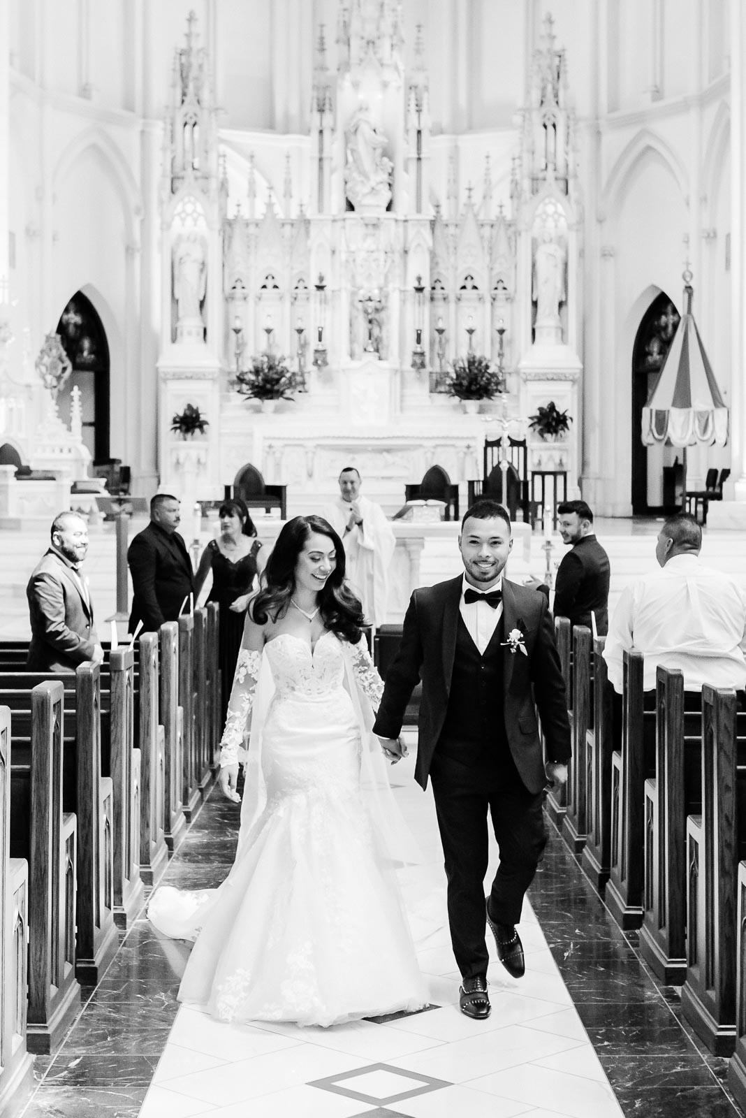 Catholic Wedding Ceremony | Josie V Photography