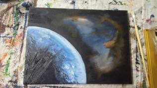 Earth-sky-space