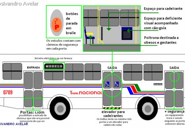 esquema dos ônibus novos