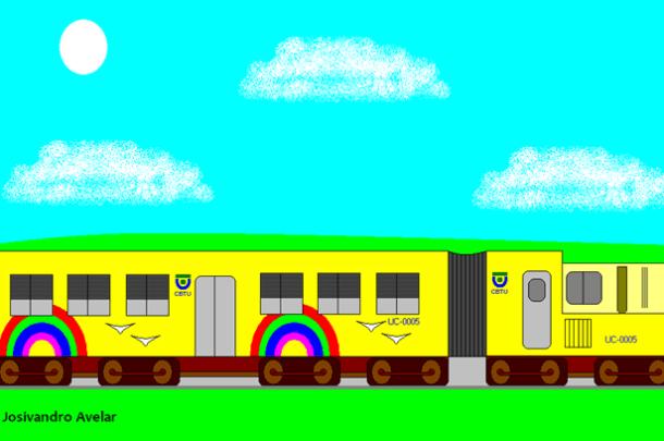 Um trem de João Pessoa