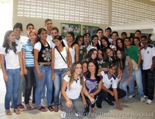 Os meus colegas de sala no Lyceu Paraibano em 2009