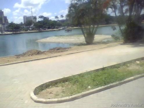 A ilha perdida que apareceu na Lagoa.