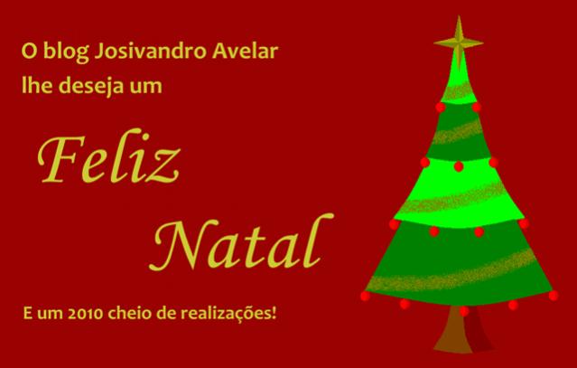 São os votos do blog Josivandro Avelar!