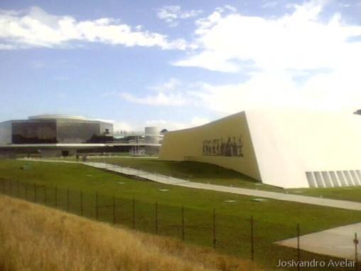 Estação Ciência, projeto do arquiteto Oscar Niemeyer.
