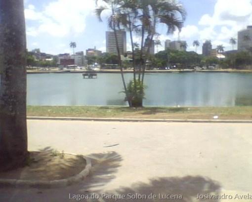 Fonte luminosa da Lagoa do Parque Solon de Lucena