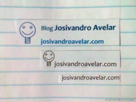 Tudo isso para divulgar o novo endereço do Blog Josivandro Avelar.