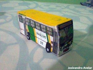 Transformação desta miniatura da Brasileiro.