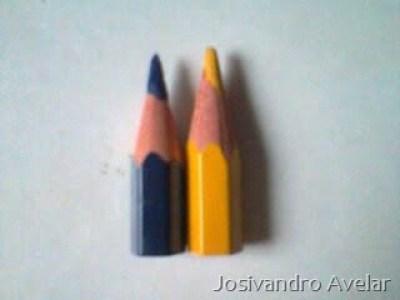 Os menores lápis do mundo.