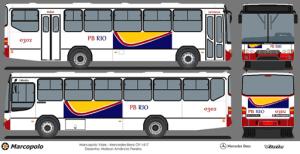 O layout desenvolvido por Igor Arantes para a concorrência da PB Rio.