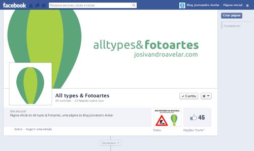 Facebook All types & Fotoartes- Maio de 2013