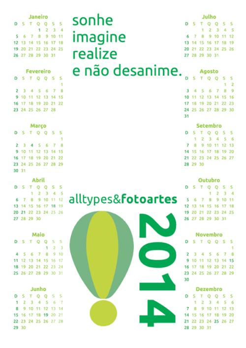 calendário at&f 2014 1