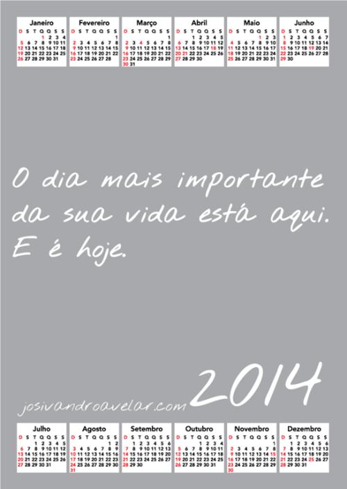 calendário josivandro avelar 2014 35