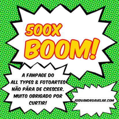 500x boom!