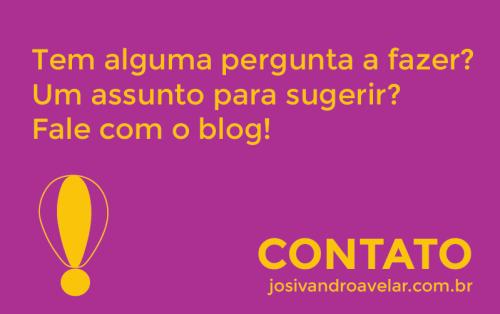 blog josivandro avelar- artes de páginas estáticas- contato