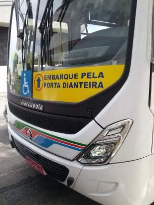 Ônibus da Transnacional.