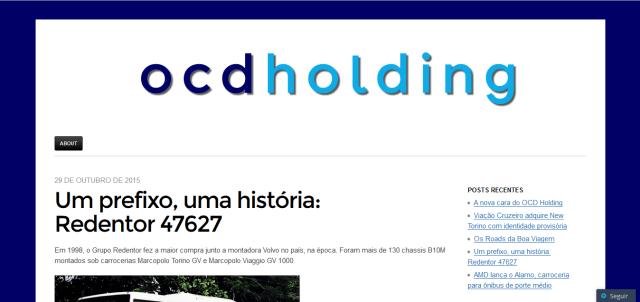 OCD Holding- Novembro de 2015