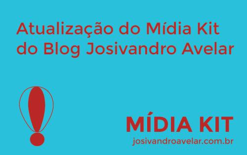blog josivandro avelar- artes de páginas estáticas- atualização mídia kit