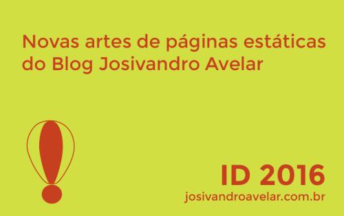 blog josivandro avelar- artes de páginas estáticas- modelo