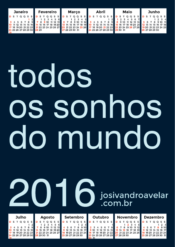calendário 2016 26