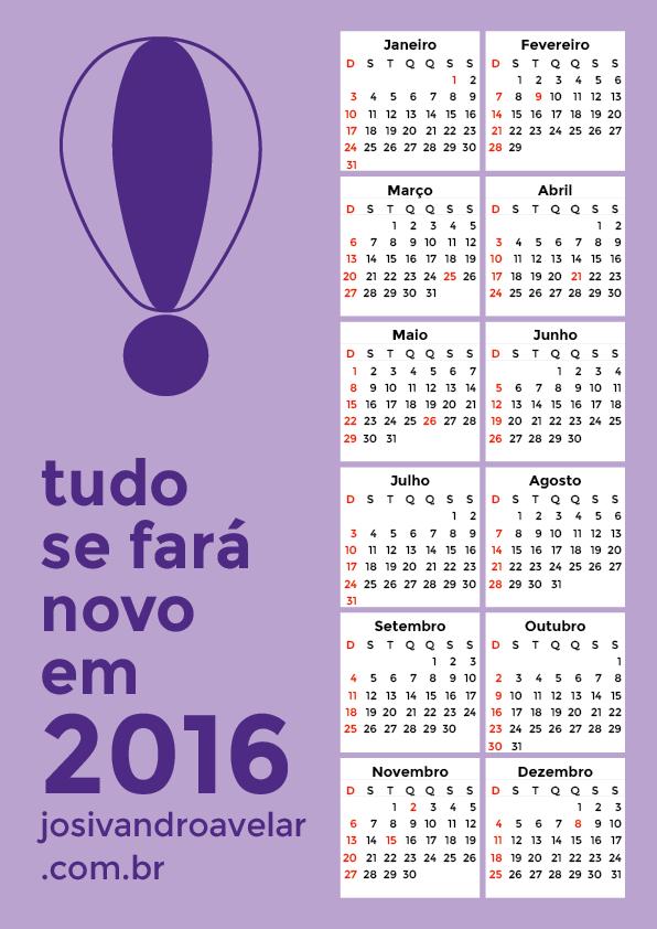 calendário 2016 4