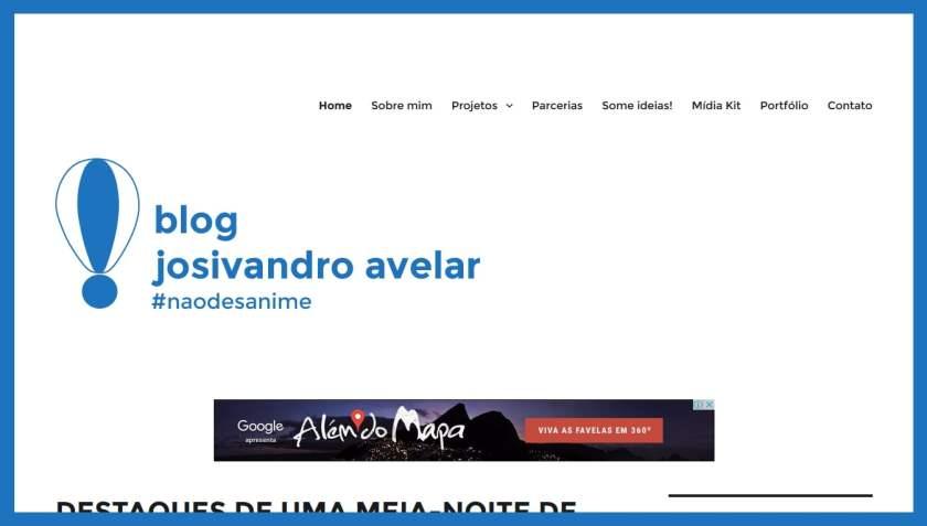 Como o Blog Josivandro Avelar é.