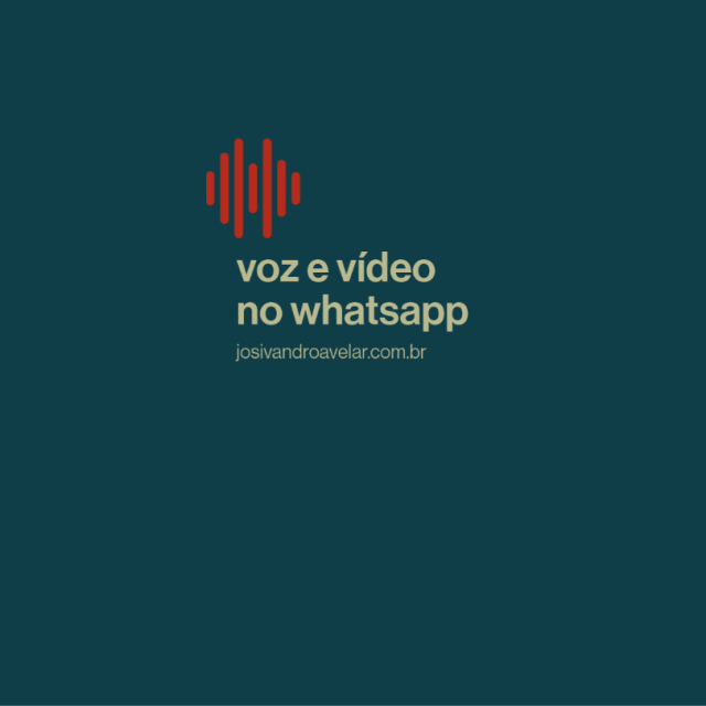 Chamadas de voz e vídeo no WhatsApp Web