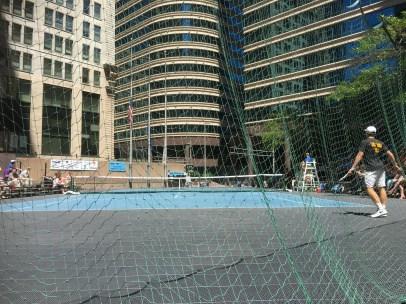 Tennis match for our annual Aquatennial celebration