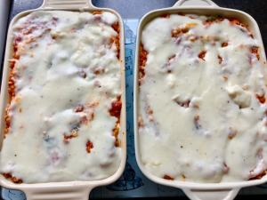 Veggie Lentils and Spinach Lasagne (Batch Cooking Recipe)