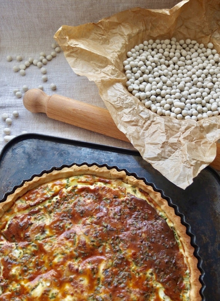 Smoked Mackerel Quiche with Horseradish
