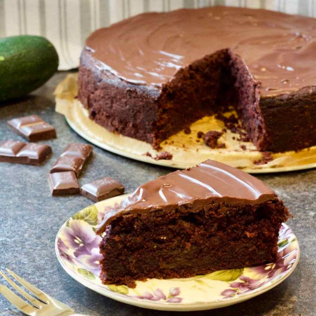 Best Ever Chocolate Courgette Cake