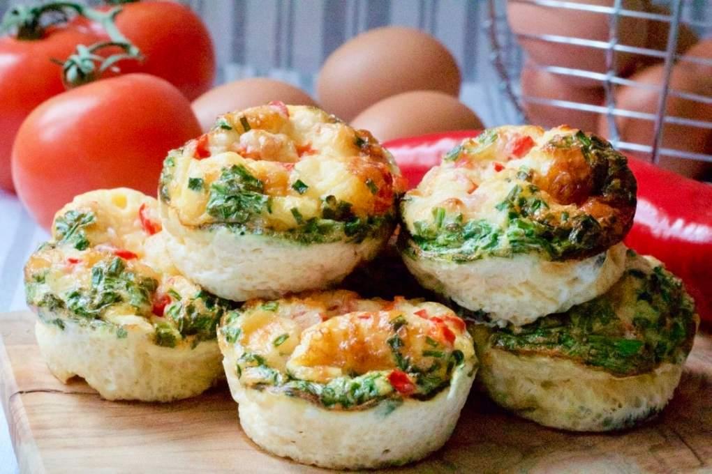 Breakfast Muffin Frittatas