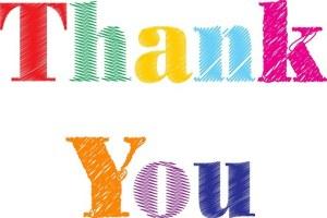 Joslyn Chase says Thank You!