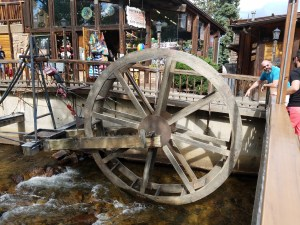 Helping the waterwheel